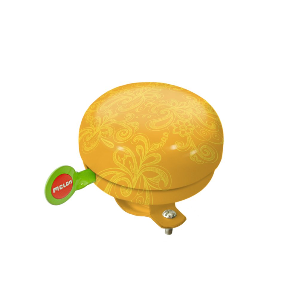Melon Zubehör »Fahrradklingel Mellow Yellow« in print