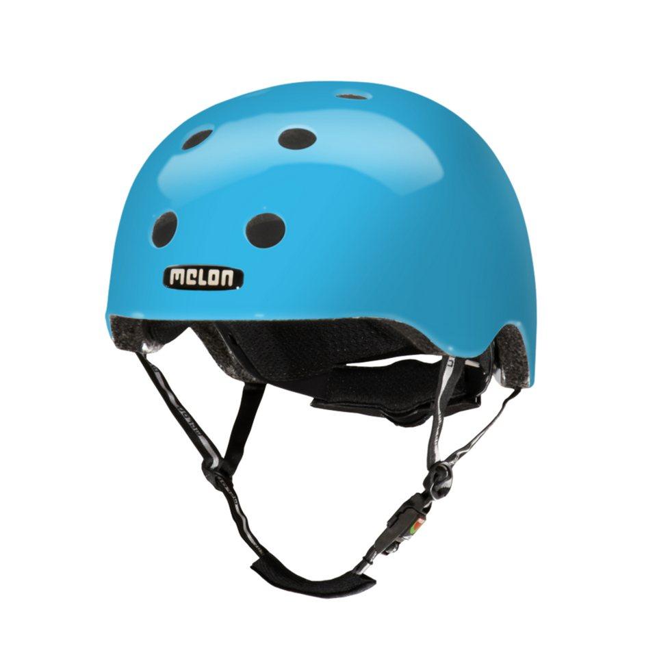 Melon Helm »Pure Glossy Collection (XL-XXL) glänzend« in Blau