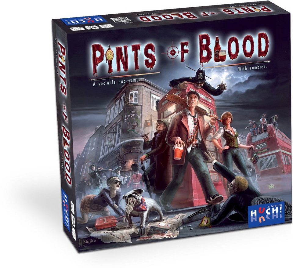 Huch! & friends Taktisches Brettspiel, »Pints of Blood«