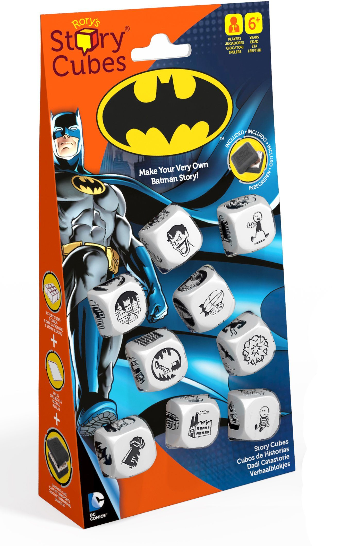 Hutter Trade Selection Würfelspiel, »Story Cubes Batman«