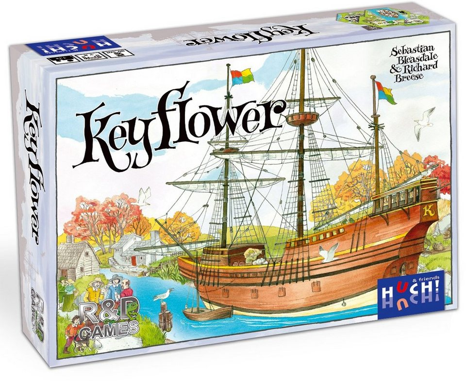 Huch! & friends Strategiespiel, »Keyflower«