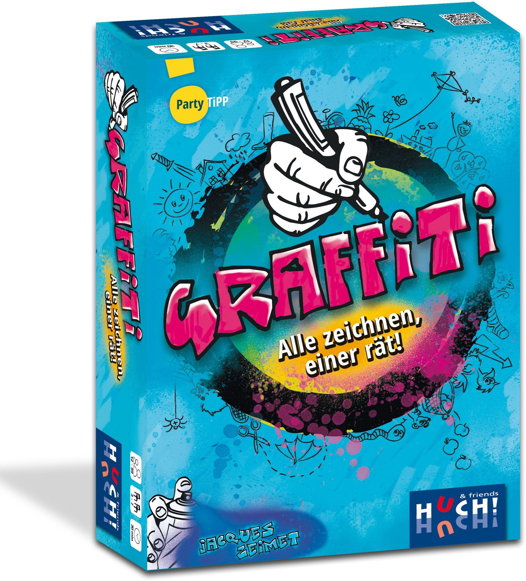 Huch! & friends Kinderspiel, »Zeichenspiel Graffiti«