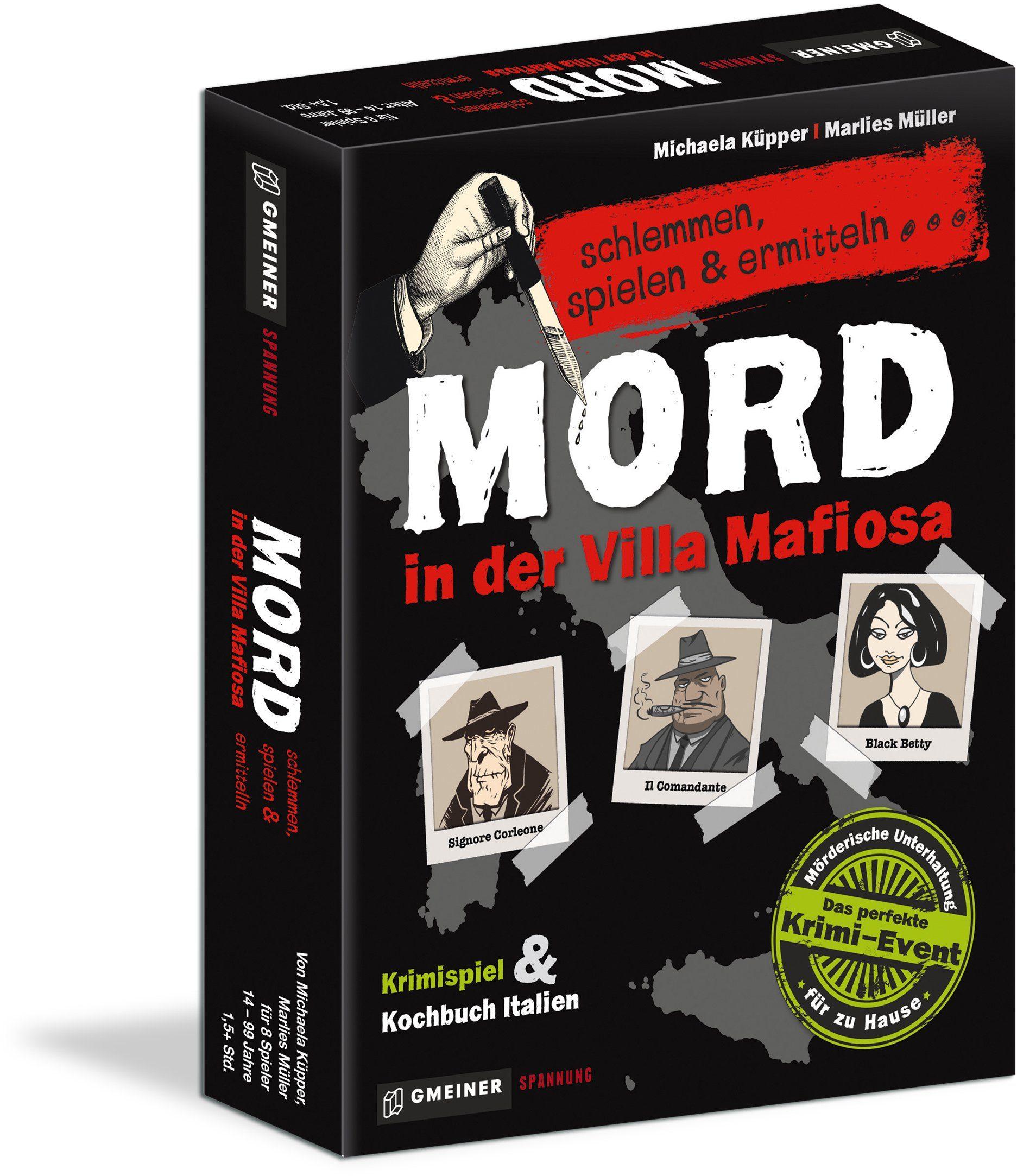 Hutter Trade Selection Gesellschaftsspiel, »Mord in der Villa Mafiosa«
