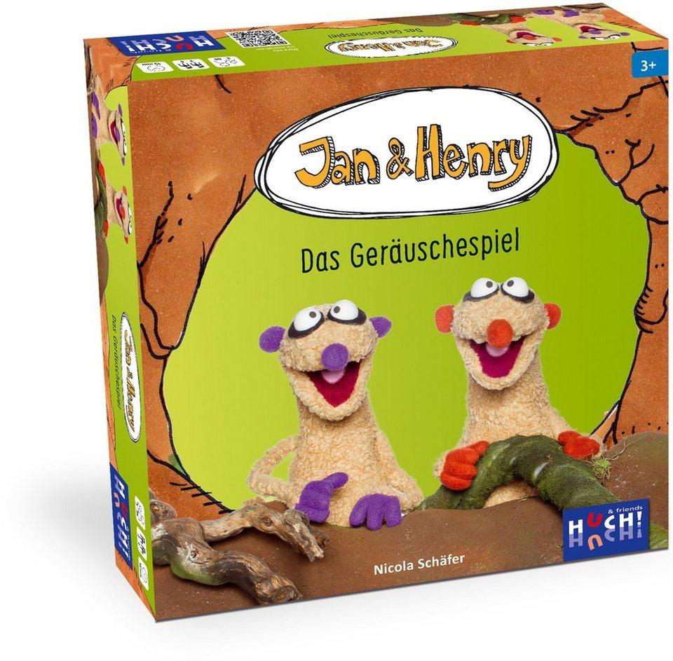 Huch! & friends Quizspiel, »Jan & Henry Das Geräuschespiel«