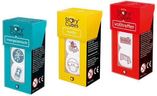 Huch! & friends Würfelspiel, »Rorys Story Cubes MIX Bundle 2«