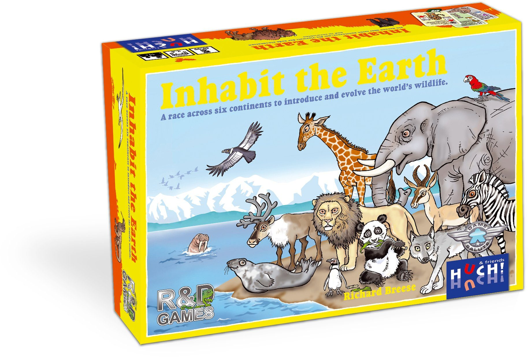 Huch! & friends Brettspiel, »Inhabit the Earth«