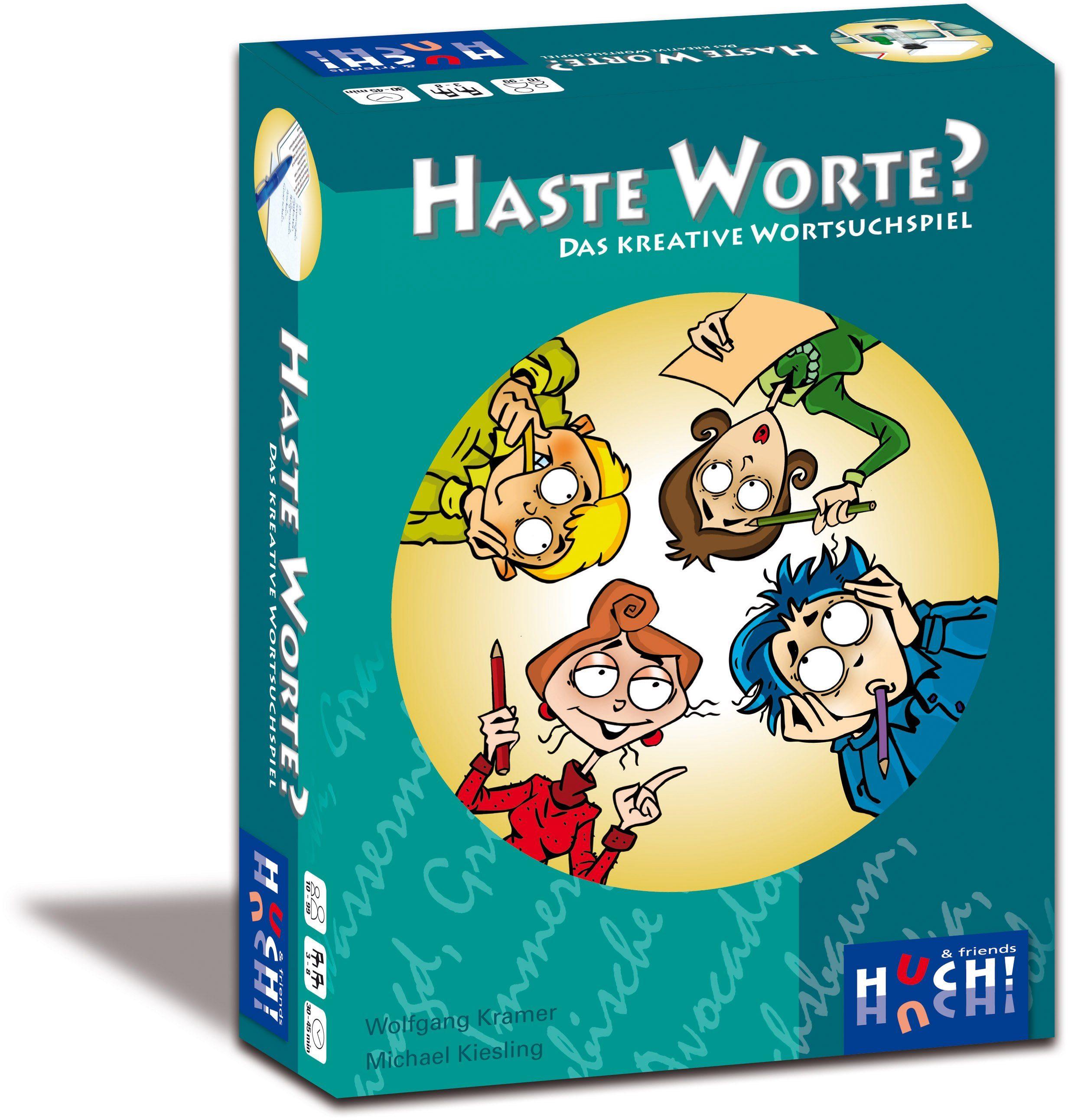 Huch! & friends Gesellschaftsspiel, »Haste Worte?«