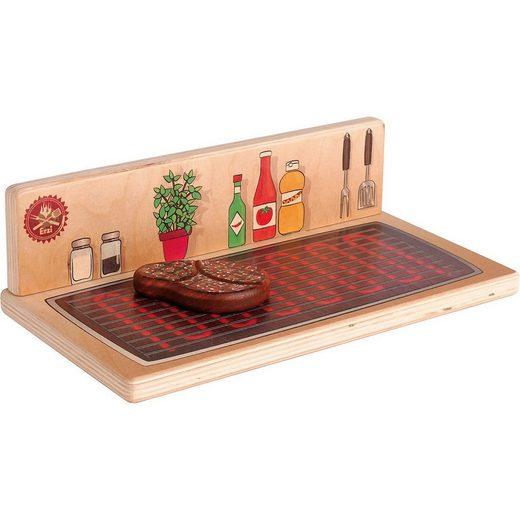 Erzi® Spielküche »Tischgrill & Kochplatte«