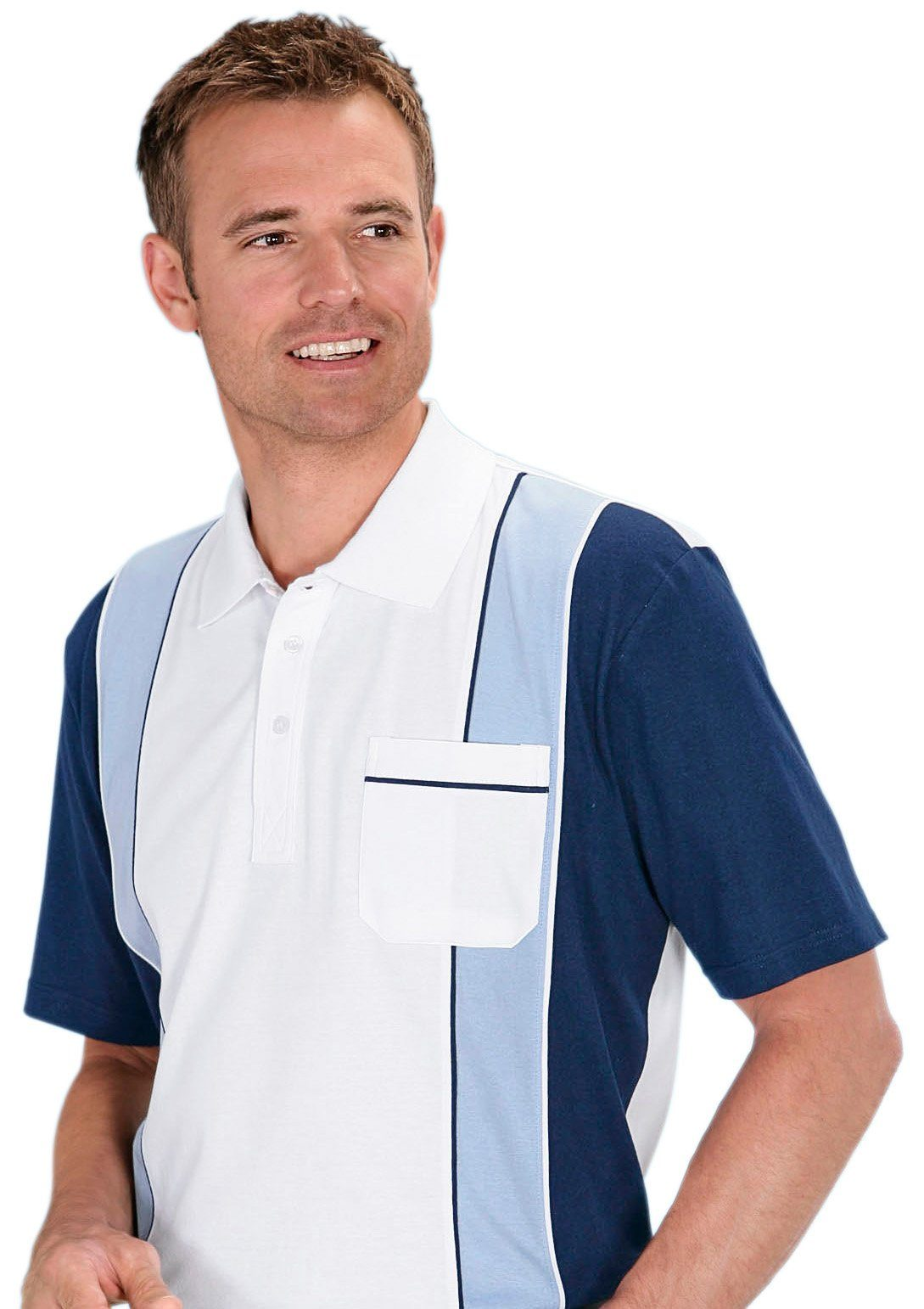 Classic Poloshirt aus reiner Baumwolle jetztbilligerkaufen