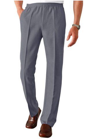 CLASSIC Laisvos kelnės su plačiu juosmeniu