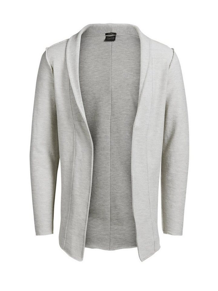 Jack & Jones Vielseitige Sweatjacke in Treated White