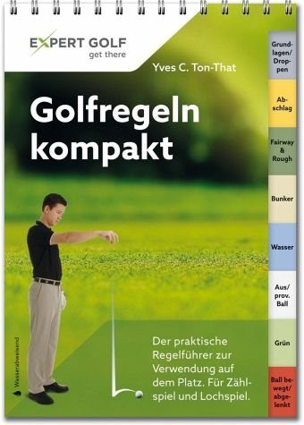 Broschiertes Buch »Golfregeln kompakt«