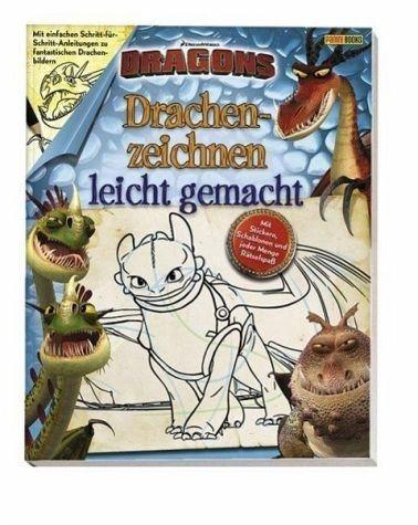 Broschiertes Buch »Dragons: Drachenzeichnen leicht gemacht«