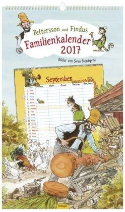Kalender »Pettersson & Findus Familienkalender 2017«