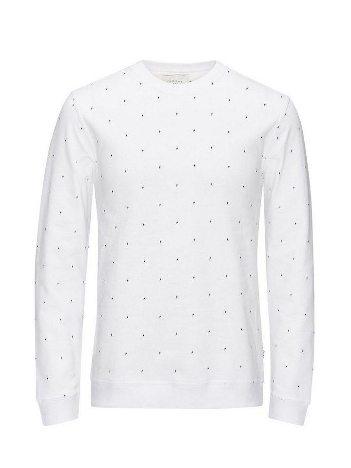 Jack & Jones Blitz- Sweatshirt in White