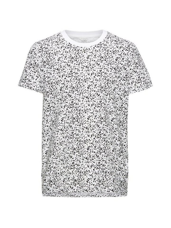 Jack & Jones Komplett bedrucktes T-Shirt in White