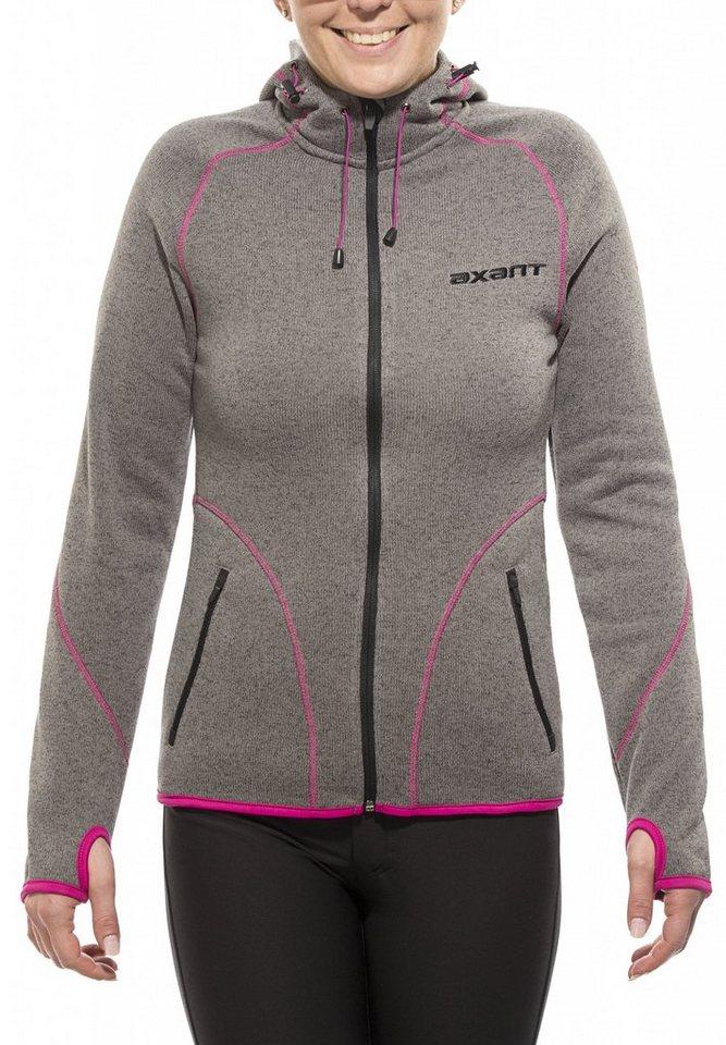 axant Outdoorjacke »Anden Fleece Jacket Women« in grau
