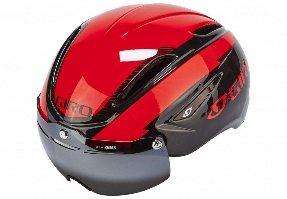 Giro Fahrradhelm »Air Attack Shield Helmet« in rot