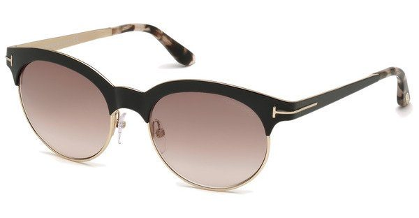 Tom Ford Damen Sonnenbrille »Angela FT0438« in 01F - schwarz/braun