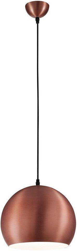 TRIO Leuchten Pendelleuche (1flg.) in Metall, kupferfarbig