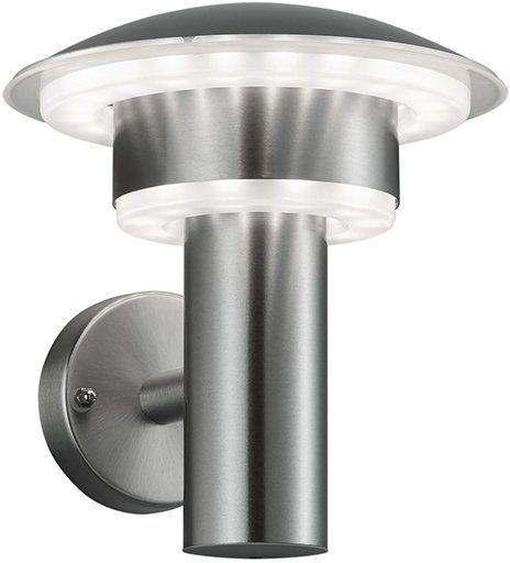 TRIO Leuchten LED Außenleuchte, 1 flg., Wandleuchte, »LIMA« in edelstahl