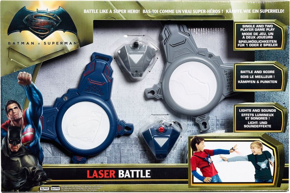 Vivid Spielset Handlaser und Brustpanzer, »Batman vs Superman Laser Battle«
