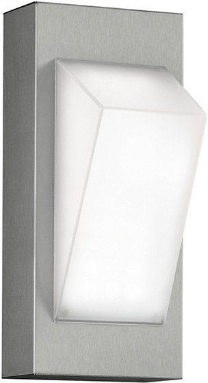 TRIO Leuchten LED Außenleuchte, 1 flg., Wandleuchte, »CAMPINAS« in edelstahl