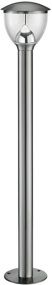 TRIO Leuchten LED Außenleuchte, 1 flg., Wegeleuchte, »MONTEVIDEO« in edelstahl