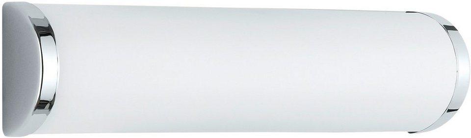 Wandleuchte Trio. Die Leuchte ist geeignet für Leuchtmittel der EEK A++ bis E. in silberfarben