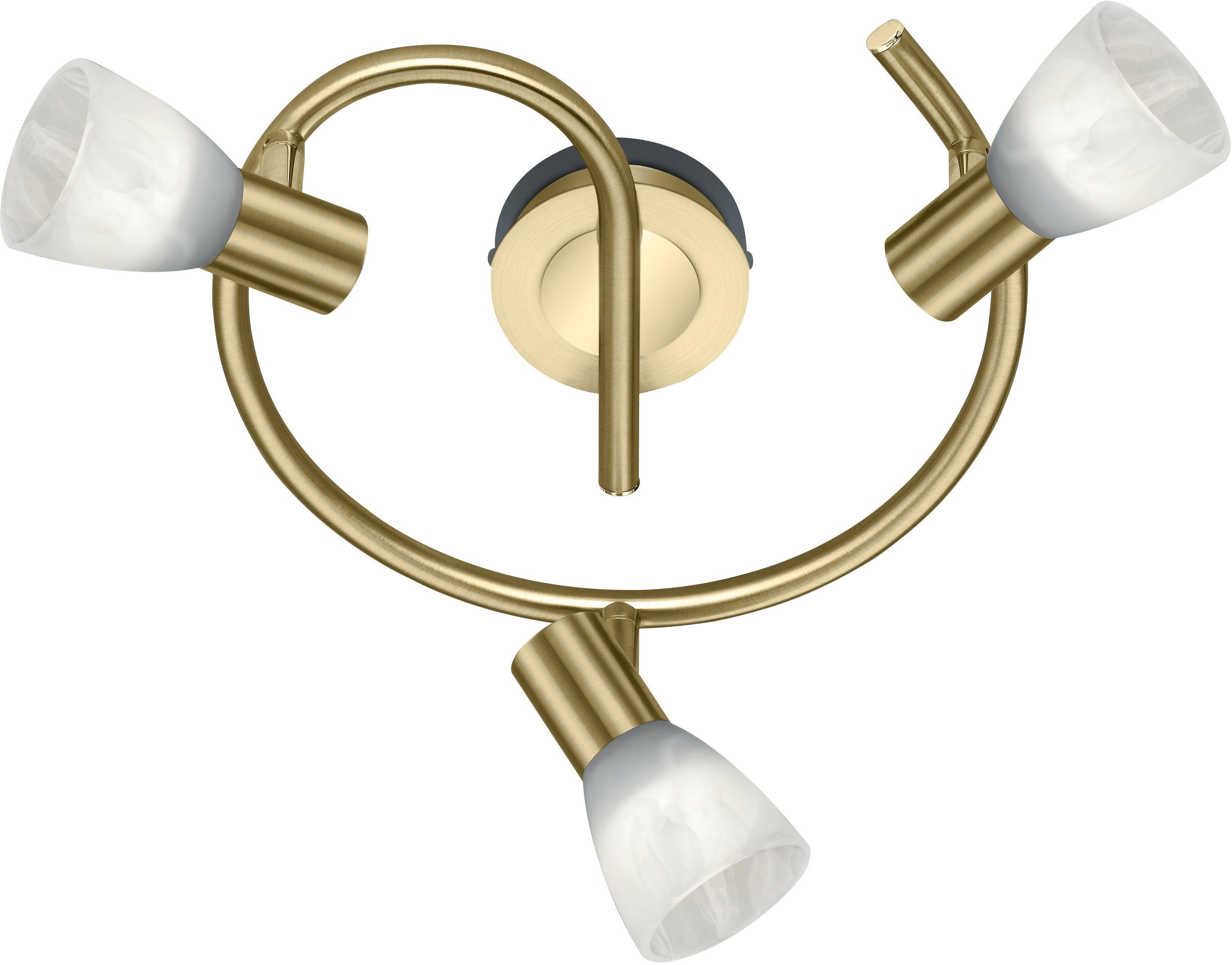 Trio Deckenleuchte, inkl. LED-Leuchtmittel, 3 flammig