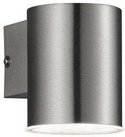 TRIO Leuchten LED Außenleuchte, 1 flg., Wandleuchte, »CALI« in edelstahl