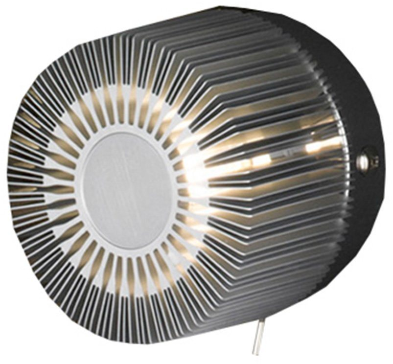 Halogen-Wandlampe, 1-flg., »AIRLIGHT«, Trio in silberfarben
