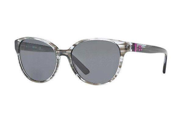 DKNY Damen Sonnenbrille » DY4117« in 344987 - braun/grau