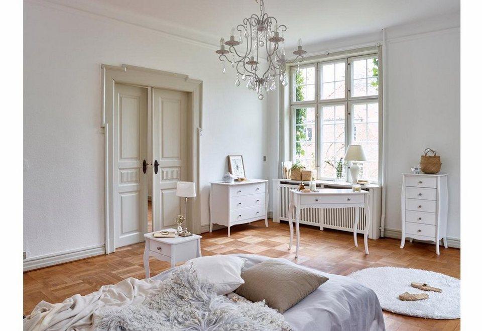 Home affaire Kommode »Baroque«, Breite 97 cm in weiß