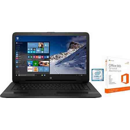 HP 17-x Notebook, Intel® Core™ i7, 43,9 cm (17,3 Zoll), 1000 GB Speicher, 8192 MB DDR4-RAM