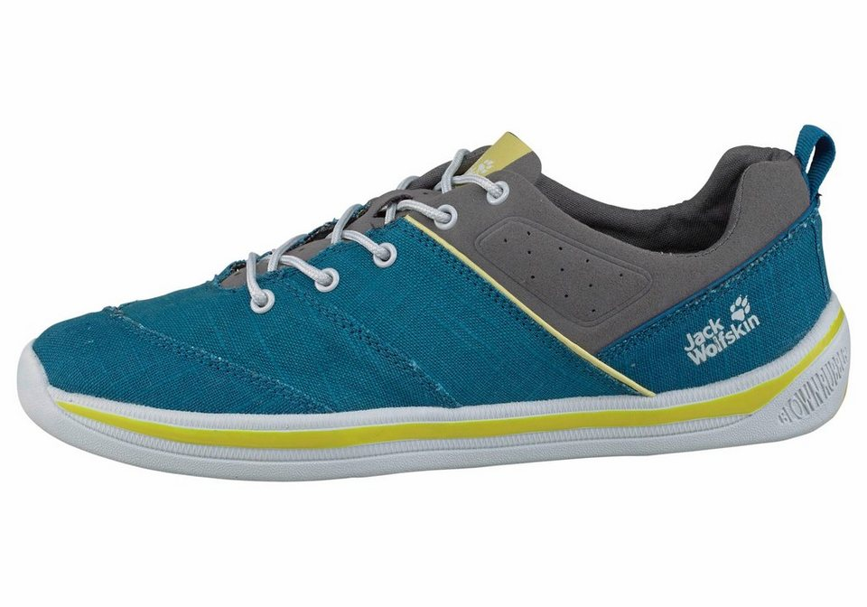 Jack Wolfskin Laconia Low M Outdoorschuh in Blau-Limette