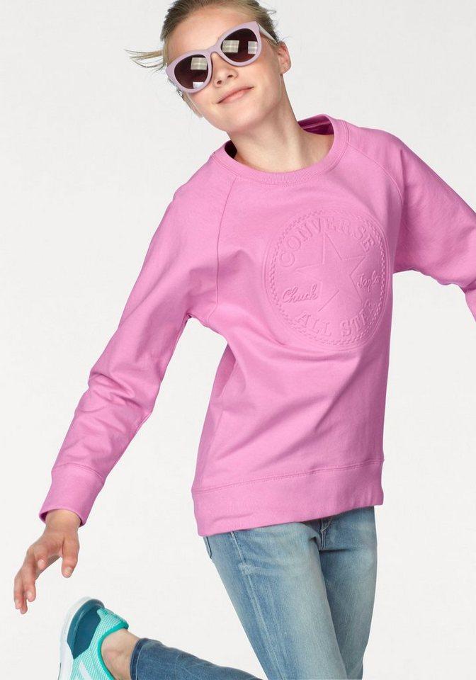 Converse Sweatshirt in rosa
