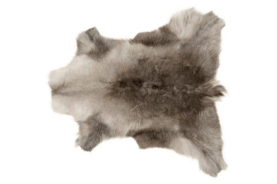 The Organic Sheep Rentierfell in grau