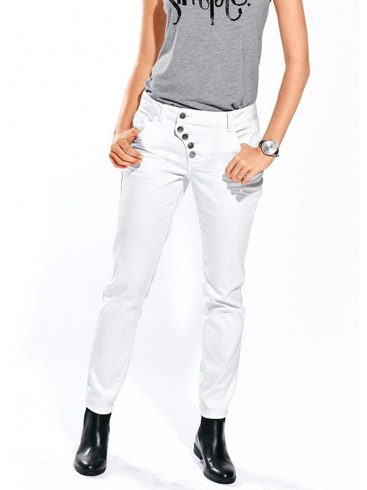 Skinny-Jeans in weiß