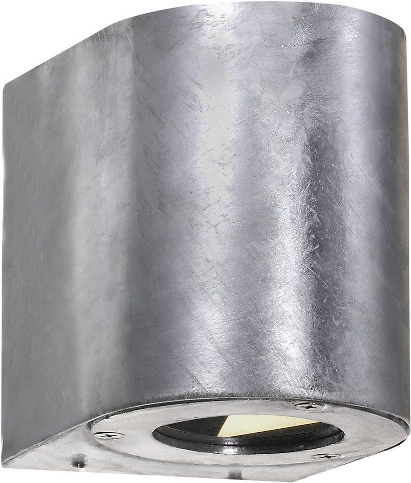 Nordlux LED Außenleuchte, 2 flg., Wandleuchte, »CANTO« in verzinkter Stahl