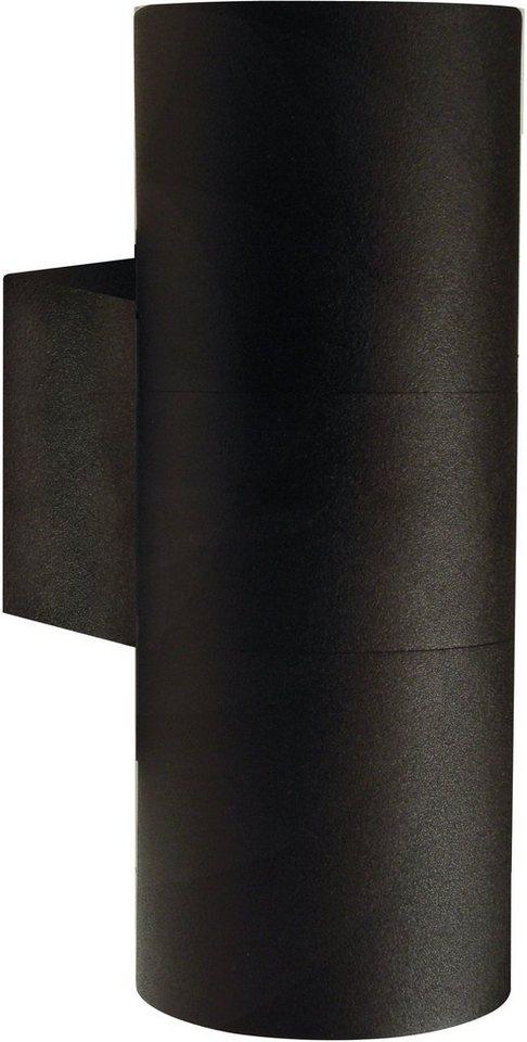 Nordlux Außenleuchte, 2 flg., Wandleuchte, »TIN MAXI« in Metall, schwarz lackiert