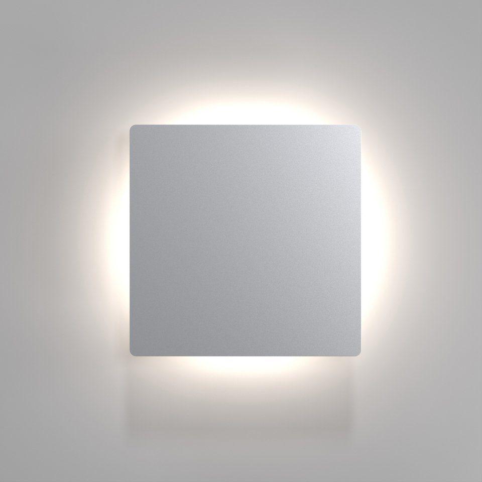 Nordlux LED Außenleuchte, 1 flg., Wandleuchte, »Quadro DISC«