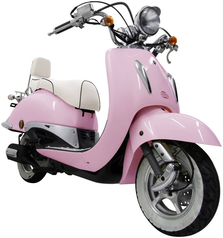 Gt Union Motorroller »Strada«, 50 ccm, 45 km/h in rosa