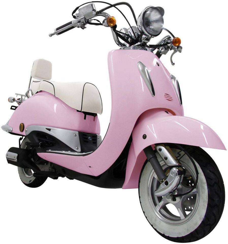 Motorroller »Strada«, 125 ccm, 85 km/h in rosa