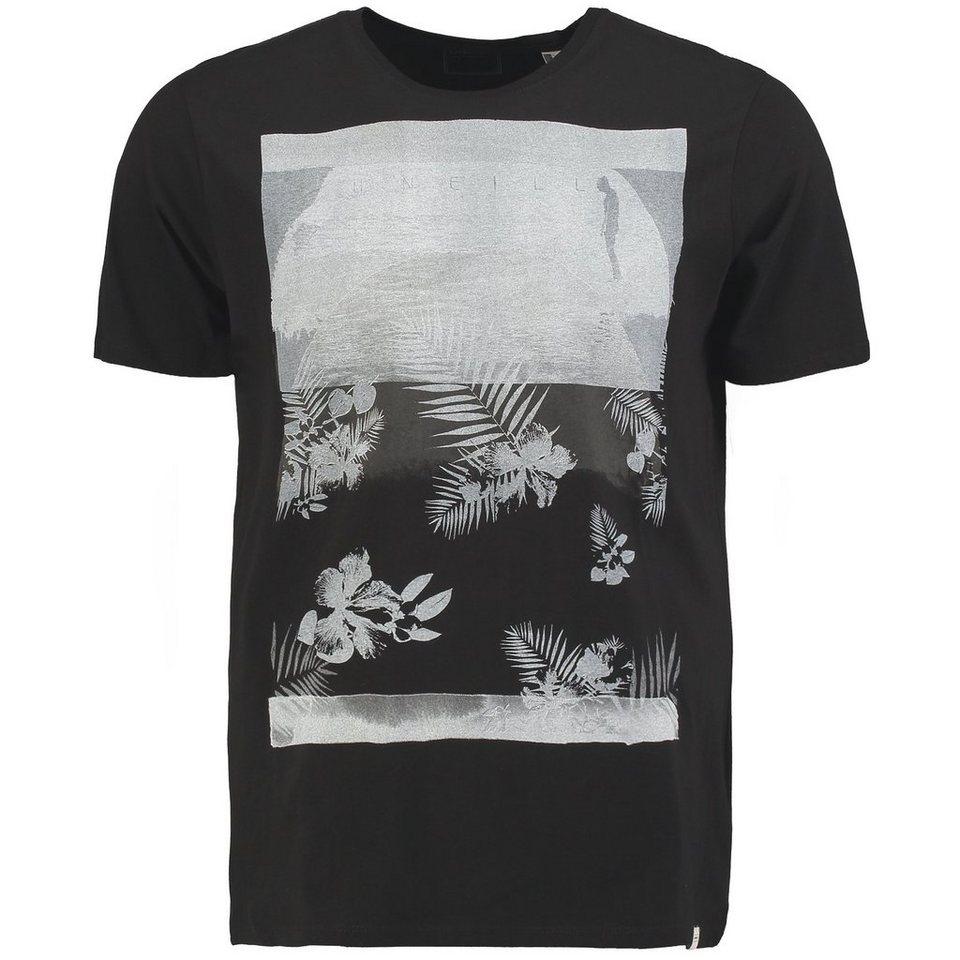 O'Neill T-Shirt kurzärmlig »Water Art« in Schwarz