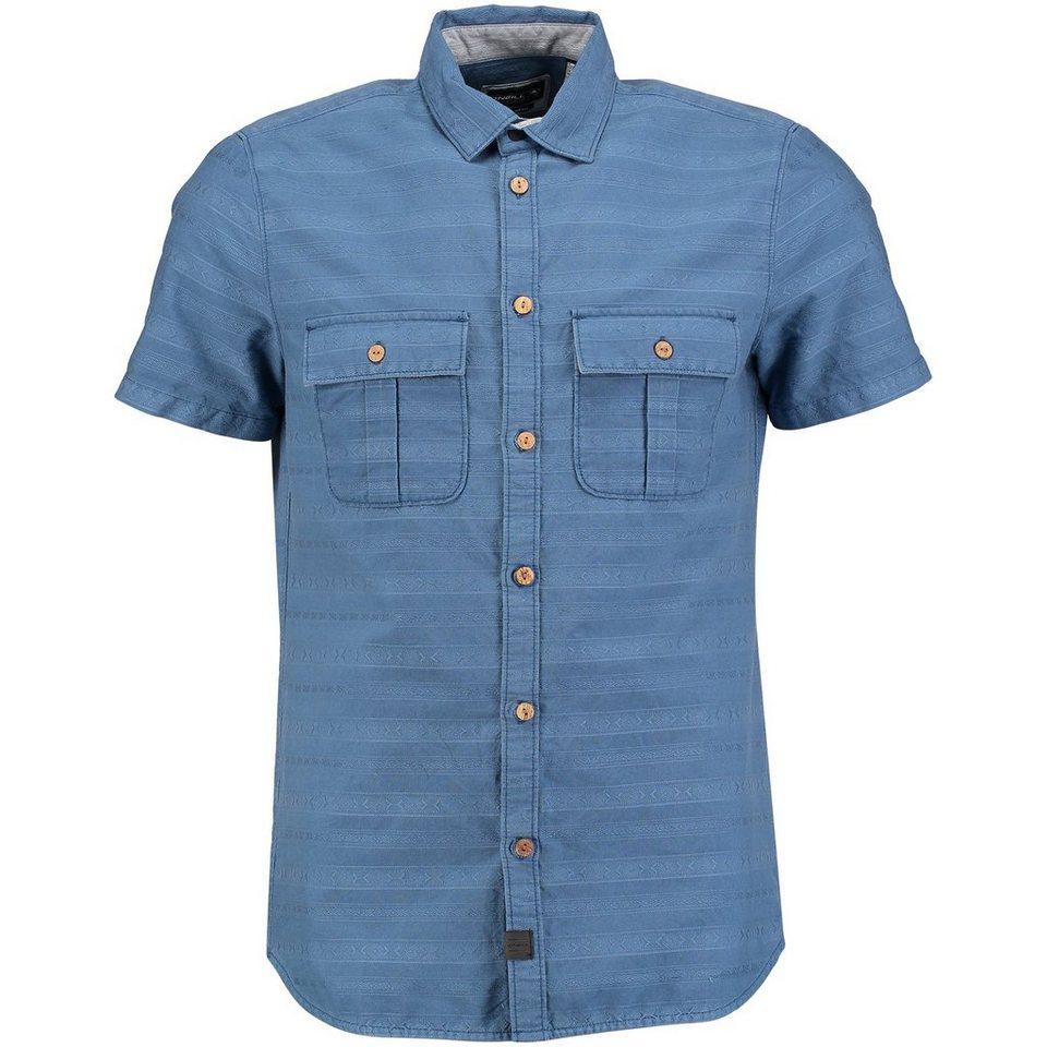 O'Neill Hemd kurzärmlig »Horizon« in Blau gemustert