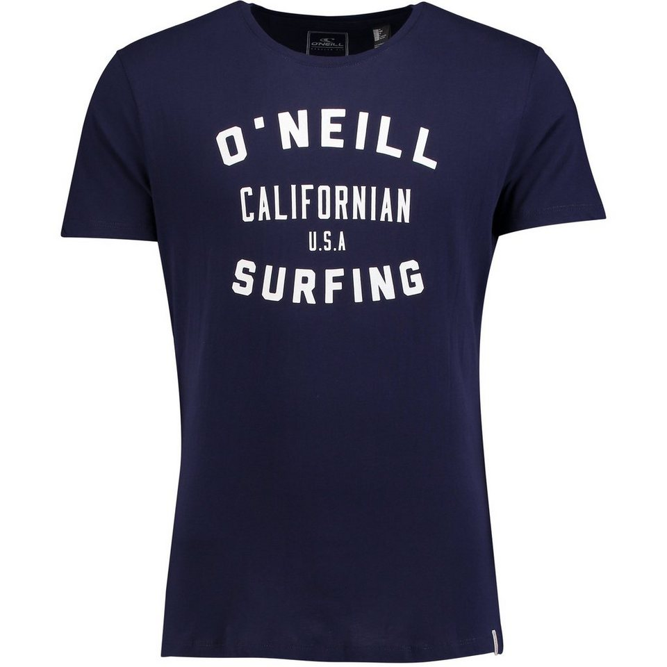 O'Neill T-Shirt kurzärmlig »Signage« in Marineblau