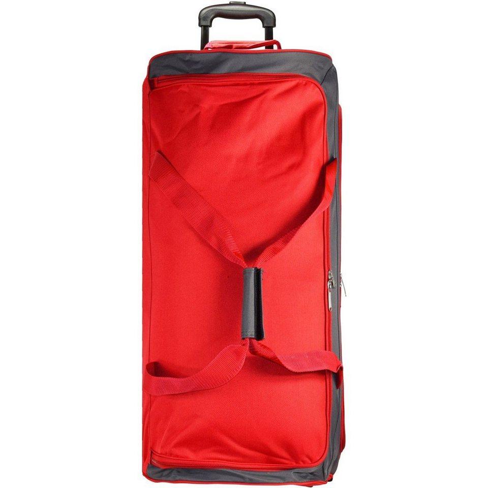 Travelite Garda 2-Rollenreisetasche 72 cm in rot grau