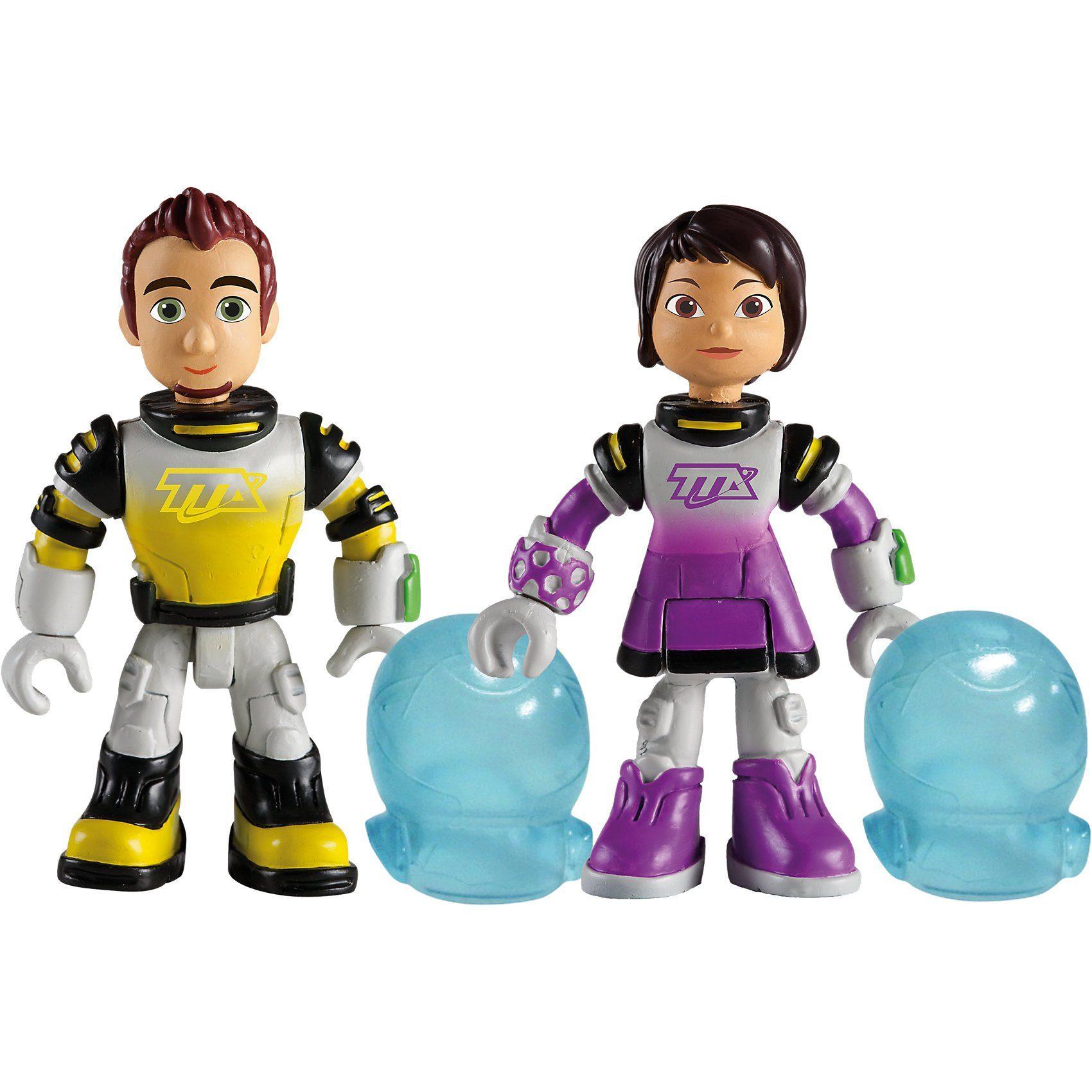 IMC Toys Miles von morgen - 2 Figuren mit Zubehör, Leo+Loretta