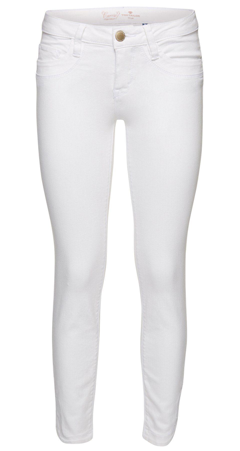 TOM TAILOR Jeans »Slim-Fit-Hose in Ankle-Länge«